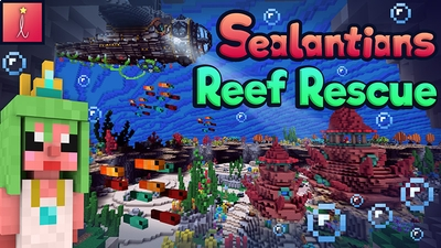 Sealantians Reef Rescue on the Minecraft Marketplace by Imagiverse