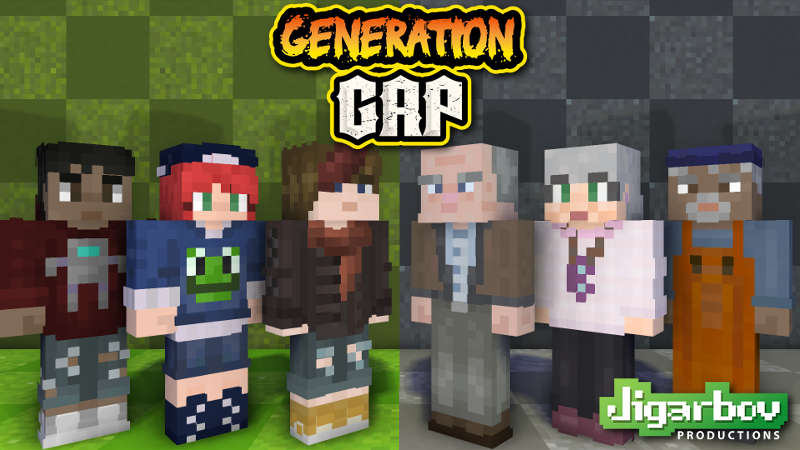 Generation Gap Teens  Elders on the Minecraft Marketplace by Jigarbov Productions