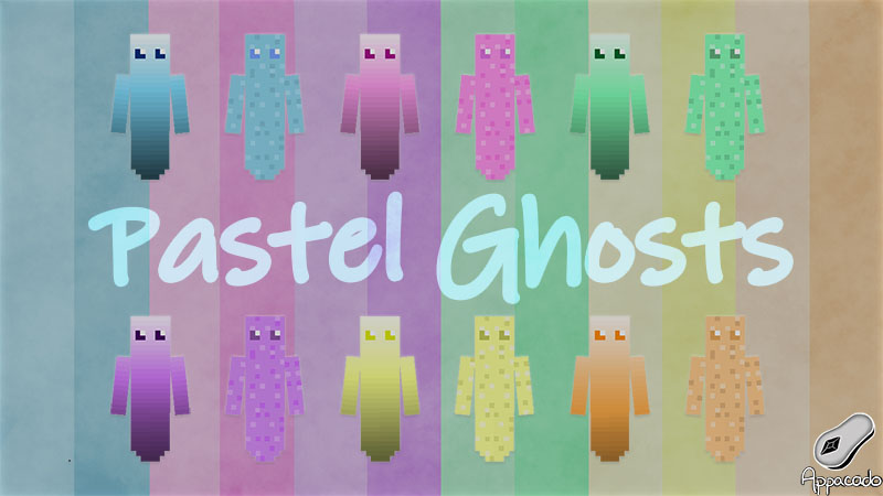 Pastel Ghosts on the Minecraft Marketplace by Appacado