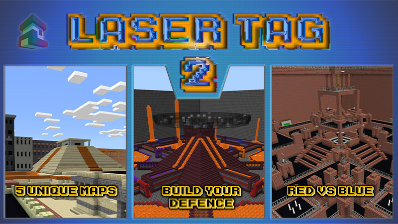 Laser Tag 2 on the Minecraft Marketplace by Project Moonboot
