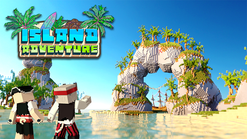 Island Adventure on the Minecraft Marketplace by Tetrascape