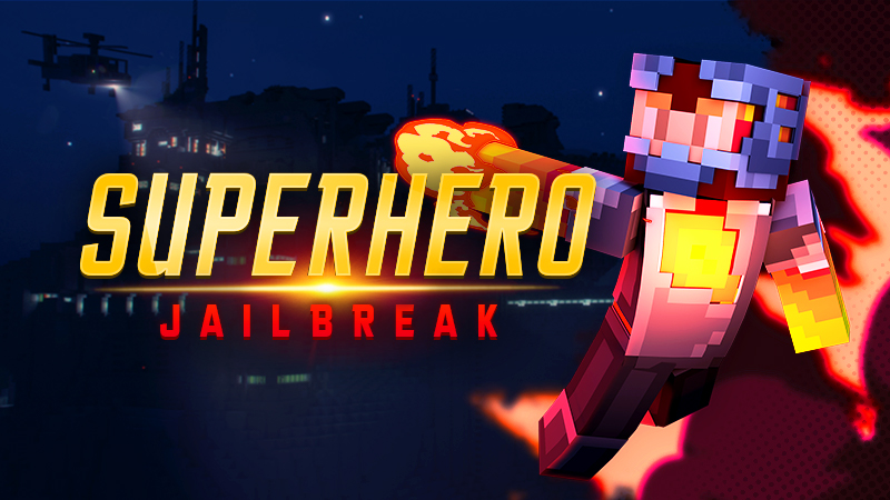 Superhero Jailbreak on the Minecraft Marketplace by Spark Squared