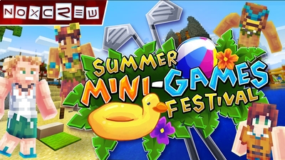 Summer MiniGames Festival on the Minecraft Marketplace by Noxcrew