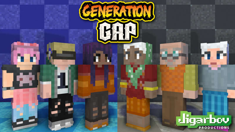 Generation Gap on the Minecraft Marketplace by Jigarbov Productions