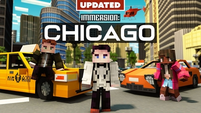 Immersion Chicago on the Minecraft Marketplace by Shapescape