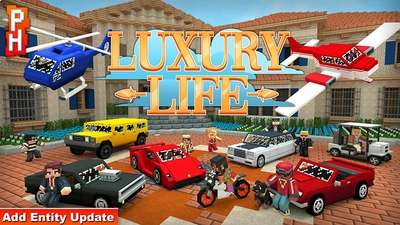 Luxury Life on the Minecraft Marketplace by PixelHeads