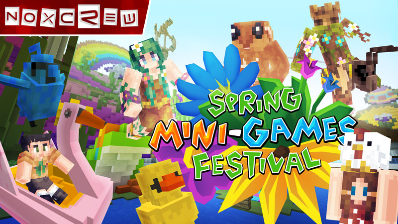 Spring MiniGames Festival on the Minecraft Marketplace by Noxcrew