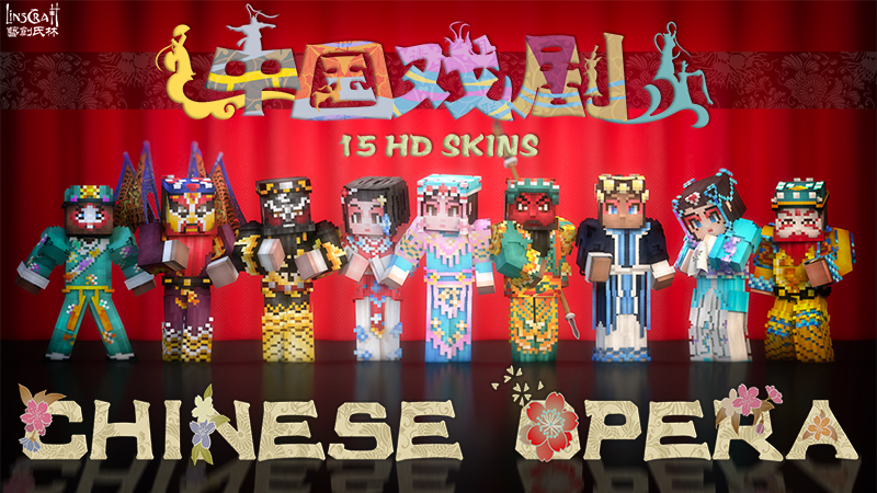 Chinese Opera HD on the Minecraft Marketplace by LinsCraft