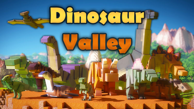 Dinosaur Valley on the Minecraft Marketplace by Norvale