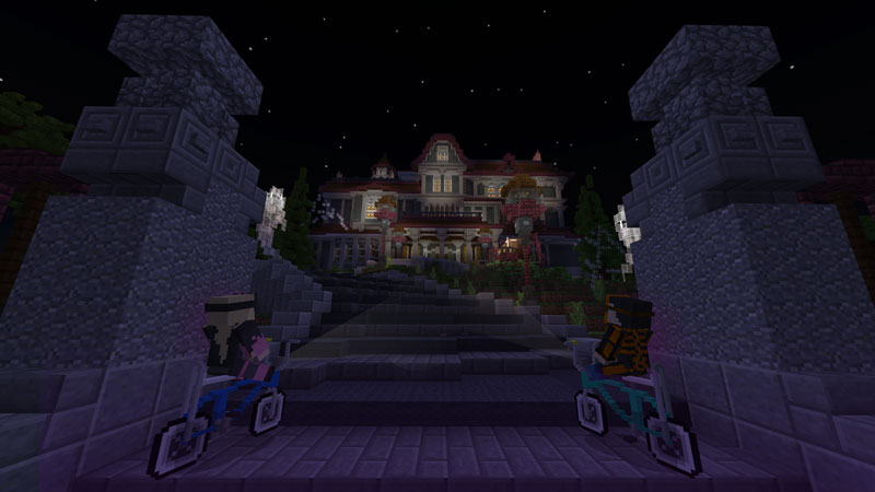 The CURSE - A Spooky Adventure on the Minecraft Marketplace by 57Digital
