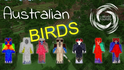 Australian Birds on the Minecraft Marketplace by The World Foundry