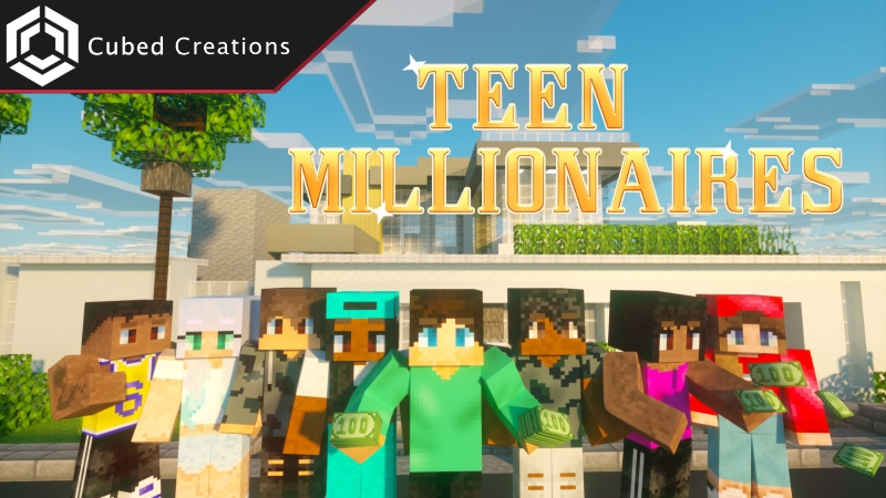 Teen Millionaires on the Minecraft Marketplace by Cubed Creations