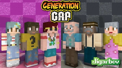 Generation Gap Young  Old on the Minecraft Marketplace by Jigarbov Productions