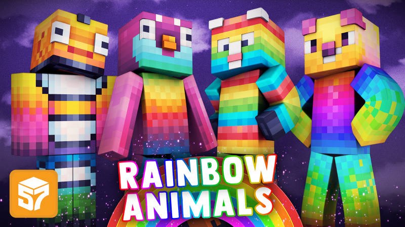 Play Rainbow Animals