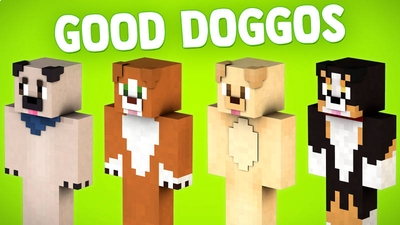Good Doggos on the Minecraft Marketplace by BLOCKLAB Studios