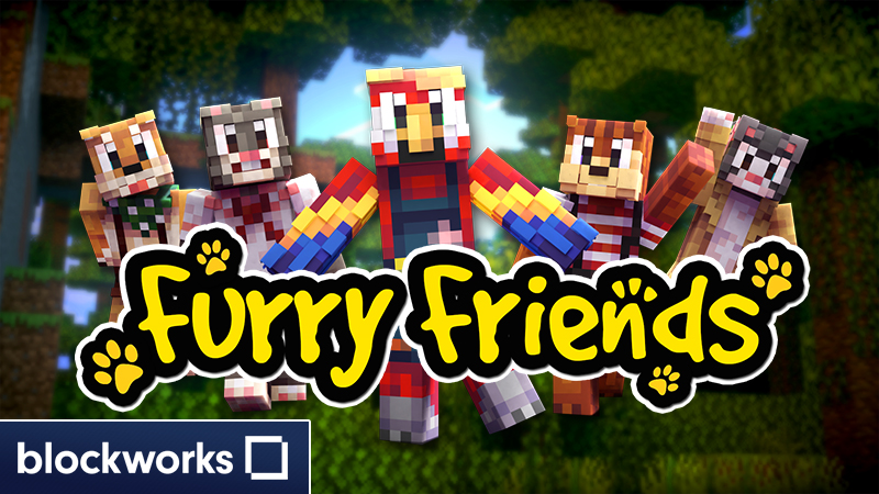Furry Friends on the Minecraft Marketplace by Blockworks