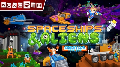 Spaceships  Aliens on the Minecraft Marketplace by Noxcrew