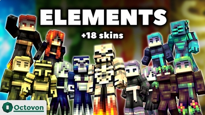 Elements on the Minecraft Marketplace by Octovon