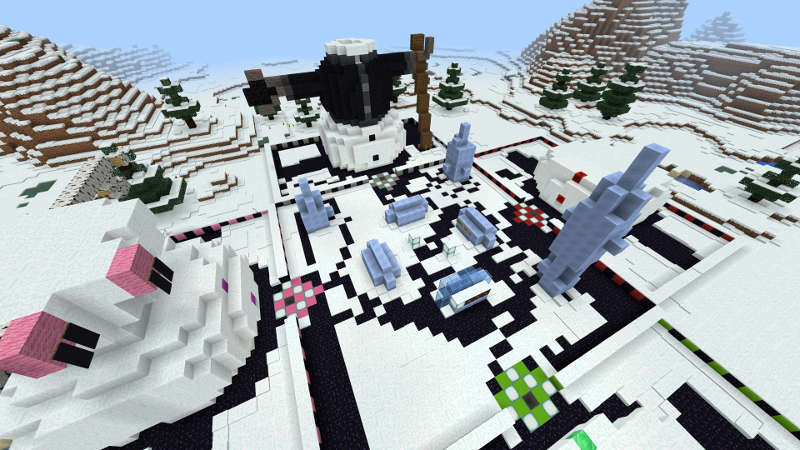Extreme Snowman Speed Battle  on the Minecraft Marketplace by Jigarbov Productions