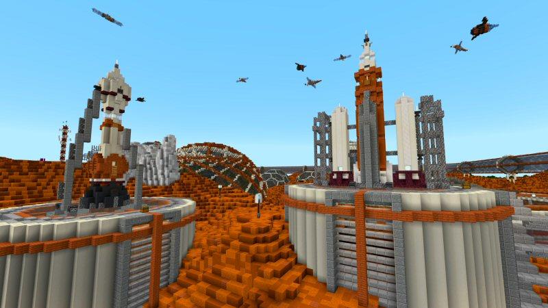 Minecraft Marketplace Mars Colony