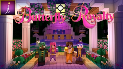 Butterfly Royalty Skin Pack on the Minecraft Marketplace by Imagiverse