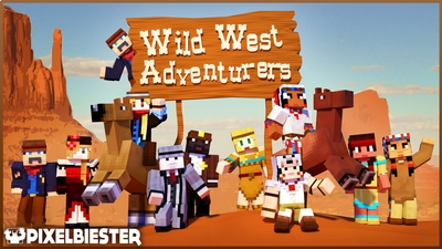 Wild West Adventurers on the Minecraft Marketplace by Pixelbiester