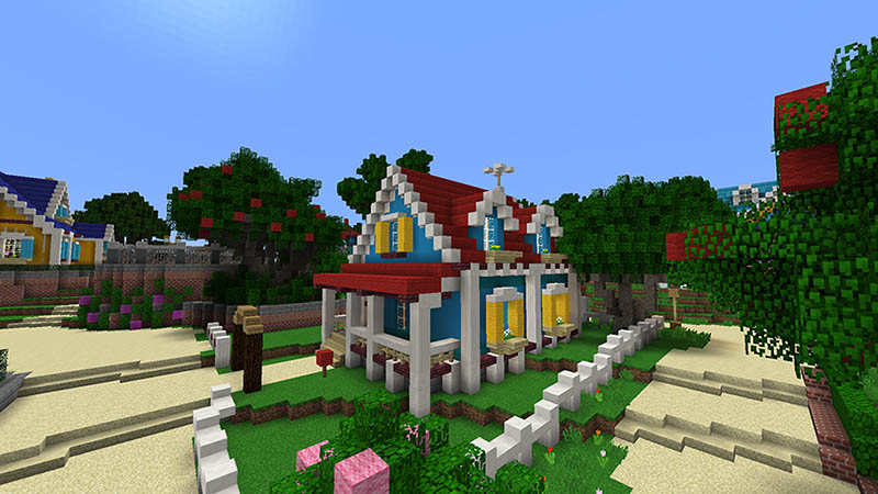 Sunnyside Academy on the Minecraft Marketplace by Imagiverse