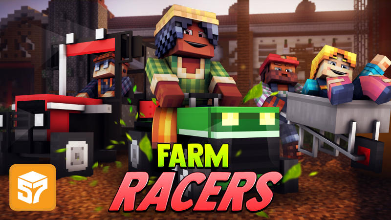 Farm Racers on the Minecraft Marketplace by 57Digital