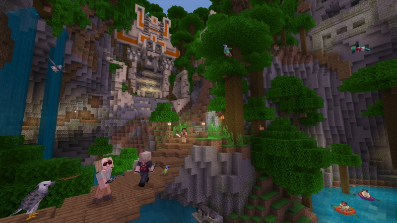 Jungle Explorer on the Minecraft Marketplace by 4J Studios