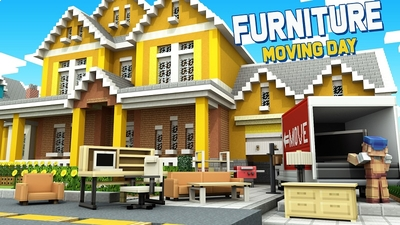 Furniture Moving Day on the Minecraft Marketplace by Nitric Concepts