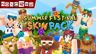 Summer Festival Skin Pack on the Minecraft Marketplace by Noxcrew
