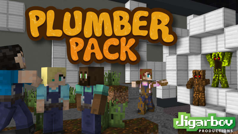 Plumber Pack on the Minecraft Marketplace by Jigarbov Productions
