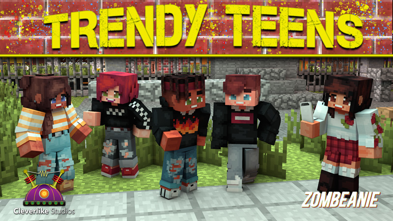 Trendy Teens on the Minecraft Marketplace by Cleverlike