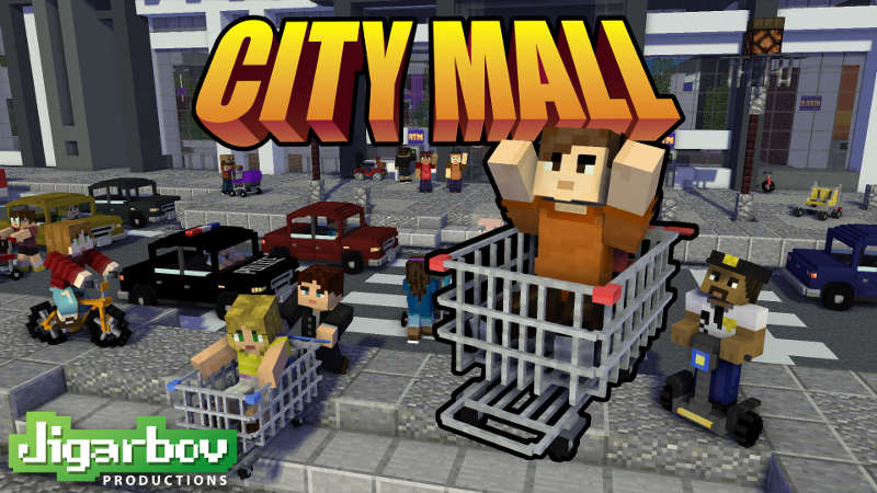 Play City Mall on the Minecraft Marketplace by Jigarbov Productions