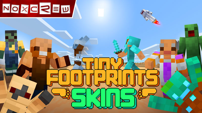 Tiny Footprints Skin Pack on the Minecraft Marketplace by Noxcrew