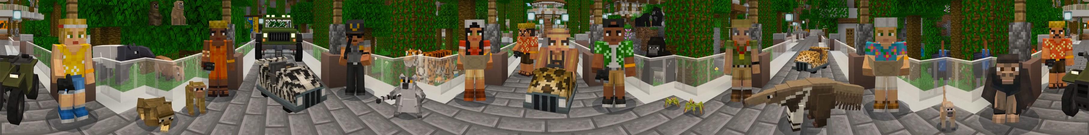 Jungle Zoo in Minecraft Marketplace  Minecraft